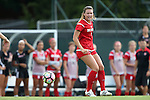 16 September 2016: NC State's Hannah Keogh (4). The University of North Carolina Tar Heels hosted the North Carolina State University Wolfpack in a 2016 NCAA Division I Women's Soccer match. NC State won the game 1-0.