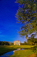 The plantation house at the Drayton Hall plantation, Charleston, South Carolina