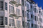 Homes townhouses in the Marina District San Francisco California USA