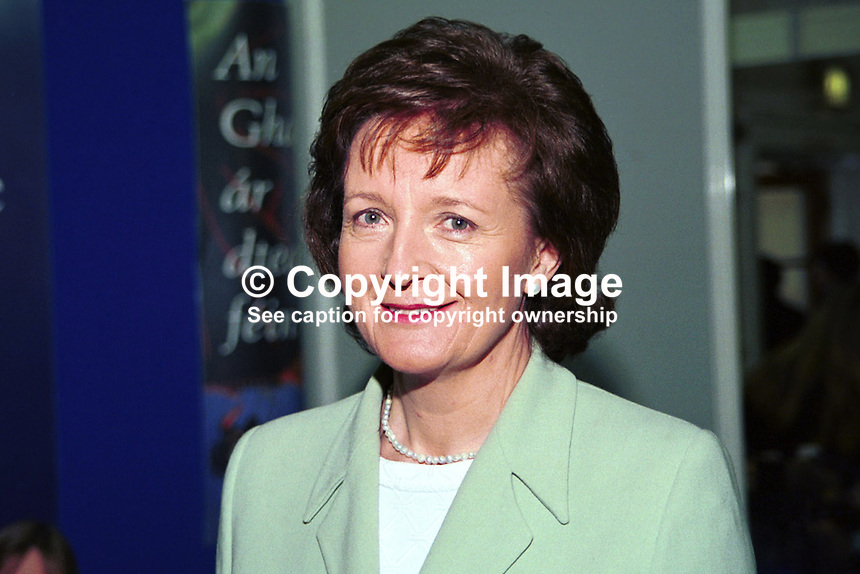 Madeleine Taylor-Quinn, Fine Gael, Senator, Rep of Ireland, 199902062..Copyright Image from Victor Patterson, 54 Dorchester Park, Belfast, UK, BT9 6RJ..Tel: +44 28 9066 1296.Mob: +44 7802 353836.Voicemail +44 20 8816 7153.Skype: victorpattersonbelfast.Email: victorpatterson@mac.com.Email: victorpatterson@ireland.com (back-up)..IMPORTANT: If you wish to use this image or any other of my images please go to www.victorpatterson.com and click on the Terms & Conditions. Then contact me by email or phone with the reference number(s) of the image(s) concerned.