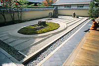 Ryoanji is a subtemple of Daitokuji and is one of several Zen gardens that were founded in the 15th century.