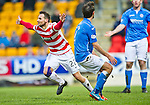 St Johnstone v Hamilton Accies...04.01.15   SPFL<br /> Tony Andreu celebartes his goal<br /> Picture by Graeme Hart.<br /> Copyright Perthshire Picture Agency<br /> Tel: 01738 623350  Mobile: 07990 594431