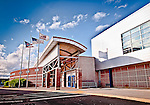 UD Arena, exterior of entrance. Dayton Ohio