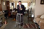 Mcc0061181 . Daily Telegraph<br /> <br /> Telegraph Magazine<br /> <br /> D Day Veterans<br /> <br /> Raymond &ldquo;Tich&rdquo; Rayner, who served as a platoon sergeant with glider-borne D Company the Oxfordshire and Buckinghamshire Light Infantry Battalion, 6th Airborne Division on D-Day . <br /> Raymond &ldquo;Tich&rdquo; Rayner, who served as a platoon sergeant with glider-borne D Company the Oxfordshire and Buckinghamshire Light Infantry Battalion, 6th Airborne Division on D-Day . Their mission was to spearhead the invasion force by flying in to Normandy in 6 Horsa gliders to capture the Caen Canal and River Orne bridges.<br /> Tich was also among the hundreds of thousands of men evacuated at Dunkirk in 1940 .<br /> <br /> <br /> 23 March 2015