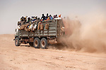 African migrants: The travel through the desert, Niger- PART 2