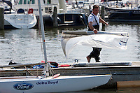 Medemblik - the Netherlands, July 13th 2010. Delta Lloyd IFDS Worlds 2010 (9/14 July 2010). Day five.