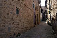 Via del centro storico di Cortona<br /> The historic center of Cortona