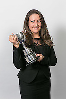 Rebecca Coleman of The Johnson Partnership with the Nottinghamshire Law Society Hammond Cup