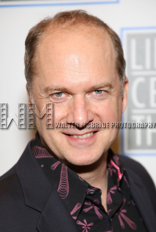 Daniel Jenkins attends the Opening Night Performance press reception for the Lincoln Center Theater production of 'Oslo' at the Vivian Beaumont Theater on April 13, 2017 in New York City.