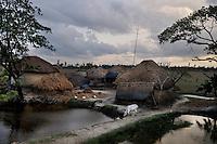 A picturesque village in Sunderbans, West Bangal, India. April 2011. Arindam Mukherjee