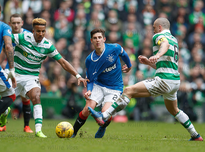 Emerson Hyndman, Scott Sinclair and Scott Brown