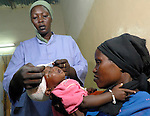 A clinic run by the Catholic Church in Nyala treats displaced persons for skin diseases.