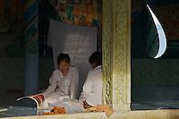 Temple at Phnom Sampeou Battambang, Cambodia