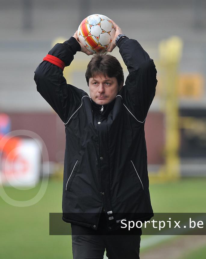 KSV Diksmuide : coach Wim Cuffez.foto VDB / BART VANDENBROUCKE