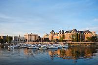 Inner harbor, Victoria, Vancouver island, British Columbia, Canada