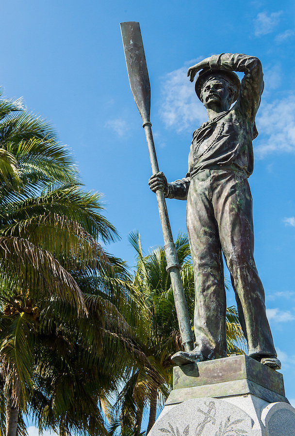 Monument in the Key West cemetery