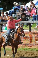 Trans-tasman rodeo at the Waimarino Showgrounds, Raetihi, New Zealand on Sunday, 20 March 2011. Photo: Dave Lintott / lintottphoto.co.nz