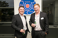 Gary Sanders (left) of Canei International with Andrew Timms of PKF Cooper Parry