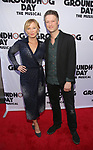 Kelli Giddish and Peter Scanavino<br />  attends the Broadway Opening Night performance of 'Groundhog Day' at the August Wilson Theatre on April 17, 2017 in New York City