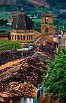 Colombia, Barichara, Iglesia de Barichara, Spanish Colonial Town Declared A National Monument, Santander Region