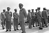 The Generals who have ruled Burma since 1962 gather for Armed Forces Day. 15,000 soldiers paraded in an annual event that is recognised as the day the modern Burmese army was founded.