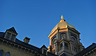 Oct. 12, 2012; North side of Golden Dome at sunrise..Photo by Matt Cashore/University of Notre Dame