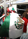 Celebrations of Mexico's Bicentennial on September 16, 2010.  The largest of celebrations were held in Mexico City's main square called the Zocalo. <br /> Photo by Mike Rynearson/Quest Imagery