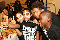 NEW YORK, NY - NOVEMBER 23, 2016 The atmosphere at the LaLa & Friends Educational Alliance Boys & Girls Club Thanksgiving Event, November 23, 2016 in New York City. Photo Credit: Walik Goshorn / Mediapunch