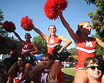 Tailgating in the Grove at the University of Mississippi in Oxford, Miss. on Saturday, September 18, 2010.