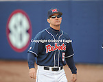 Mississippi head coach Mike Bianco vs. Louisiana-Monroe at Oxford-University Stadium in Oxford, Miss. on Saturday, February 20, 2010 in Oxford, Miss. Mississippi won.