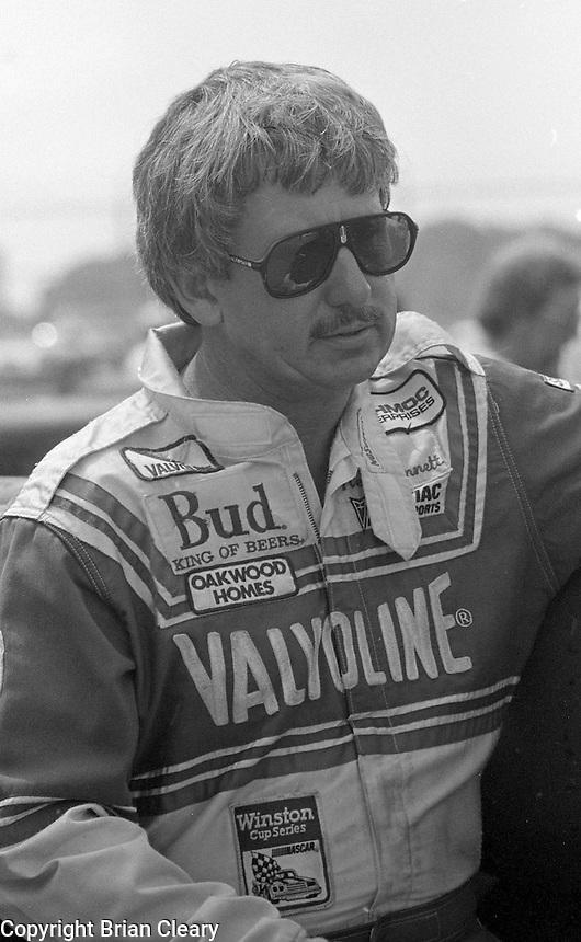 Neil Bonnett Pepsi Firecracker 400 Daytona International Speedway Daytona Beach FL July 1987 (Photo by Brian Cleary/www.bcpix.com)