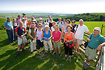 Brighstone, Walkers Group, Ramblers, Limerston, Brightston Down, Isle of Wight, Malcom Peplow, Isle of Wight, England, UK,