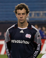 New England Revolution forward Zack Schilawski (15) who scored a hat trick in his home game debut.  The New England Revolution defeated Toronto FC, 4-1, at Gillette Stadium on April 10.2010