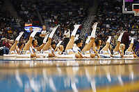 Mar 08, 2010; New Orleans, LA, USA; New Orleans Hornets Honeybees dancers perform during the first half of a game against the Golden State Warriors at the New Orleans Arena. Mandatory Credit: Derick E. Hingle-US PRESSWIRE