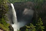 Helmcken Falls on Murtle river in Wells Gray Provincial Park in B.C. Canada