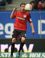 FUSSBALL   1. BUNDESLIGA   SAISON 2012/2013    34. SPIELTAG Hamburger SV - Bayer 04 Leverkusen                      18.05.2013 Stefan Kiessling (Bayer 04 Leverkusen) am Ball