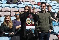 Burnley Fans before kick off<br /> <br /> Photographer Rachel Holborn/CameraSport<br /> <br /> The Premier League - Burnley v Manchester United - Sunday 23rd April 2017 - Turf Moor - Burnley<br /> <br /> World Copyright &copy; 2017 CameraSport. All rights reserved. 43 Linden Ave. Countesthorpe. Leicester. England. LE8 5PG - Tel: +44 (0) 116 277 4147 - admin@camerasport.com - www.camerasport.com