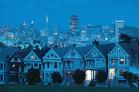 California. Alamo Square in San Francisco These United States Page 226 Bottom: