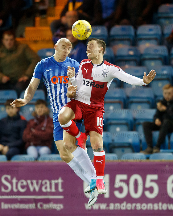Conor Sammon and Barrie McKay