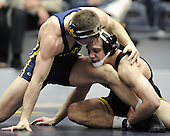 The University of Michigan wrestling team lost to Iowa, 33-10, at Cliff Keen Arena in Ann Arbor, Mich., on January 18, 2013.