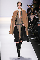 Jac walks the runway in an out by Max Azria, for the BCBGMAXAZRIA Fall 2011 fashion show, during Mercedes Benz Fashion Week.