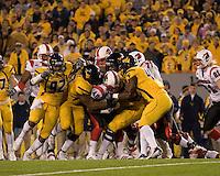 Louisville Cardinals @ West Virgina Mountaineers 11-08-07