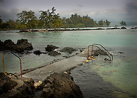Keaukaha Beach Park at Hilo, Hawaii