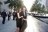 On the 10th anniversary of the September 11th attacks, former Mayor Rudy Giuliani (Republican of New York City) and his wife, Judith, at the North Pool at the September 11th Memorial at the World Trade Center site in New York, New York on September 11, 2011. .Credit: Jefferson Siegel / Pool via CNP