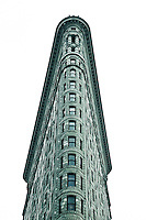 The Flatiron Building in Manhattan