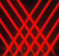 REFLECTION OF LASER BEAMS BY PLANE MIRROR. Angle Of Incidence Equals  Angle Of Reflection. Laser beams are observed  reflecting off of a flat mirror. The behavior of the light as it reflects follows the law of reflection.