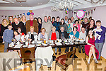 Mary Keating seated front centre from kimego, Cahersiveen celebrated her 80th Birthday with Family and friends in the Ring of Kerry Hotel, Cahersiveen on Saturday evening.