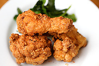 BROOKLYN, NY - APRIL 23, 2013: Fried Chicken at Marietta in Clinton Hill. CREDIT: Clay Williams.  <br /> <br /> <br /> &copy; Clay Williams / http://claywilliamsphoto.com