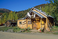 Historic log cabin, Kantishna gold mining district, Kantishna, Alaska, Denali National Park
