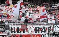 FUSSBALL   1. BUNDESLIGA  SAISON 2011/2012   10. Spieltag 1 FC Nuernberg - VfB Stuttgart         22.10.2011 Stuttgart ULTRAS Fankurve